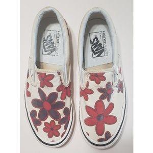 Vans Classic Slip On 98DX Anaheim Floral Design